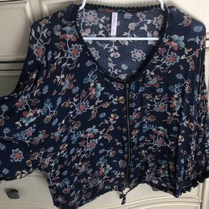 Floral top for a night out!